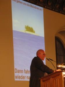 Klimaherbst stellt Machtfrage: Vorstand Winfried Eckardt (c) Goede