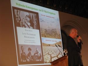 Prof. Schellnhuber eröffnet Münchner Klimaherbst 2015: seine historische Buchempfehlung und Lehren daraus (c) Goede