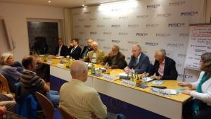 Fachexpertenpanel: v. Birgelen, Blume, Klugescheid, Mössner, Selinger, Berz, Trischler (v. l.n.r.) (c) TELI