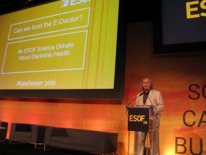Hanns-J. Neubert, EUSJA Präsident emeritus, sciencecom Hamburg: Skeptiker, Aufpassen auf Gesunheitsdatenpiraten (c) Goede