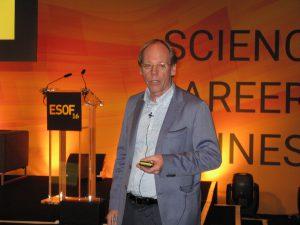 """Réné von Schomberg, Experte """"Responsible Innovation"""", Europäische Kommission, Brüssel: Ethics go first (c) Goede"""