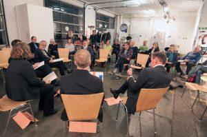 Wissenschaftsdebatte im International Munich Art Lab IMAL (c) Knoll