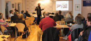 Gerber bei BJV Veranstaltung im Münchner PresseClub (c) Olaf Konstantin Krueger